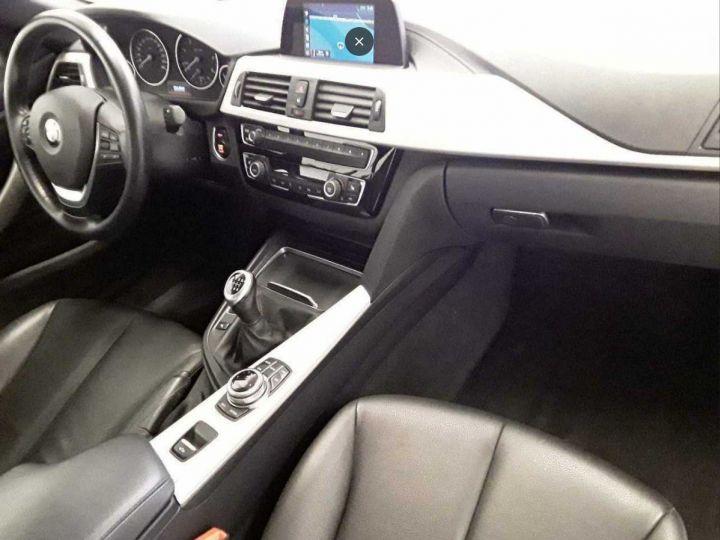 BMW Série 4 420 D 190 LUXURY BVA8 10/2017 gris  métal - 7