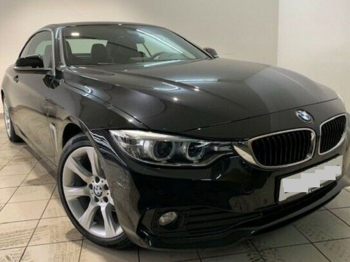 BMW Série 4 420D 190 LUXURY BVA8 (09/2016) saphirschwarz metal - 1