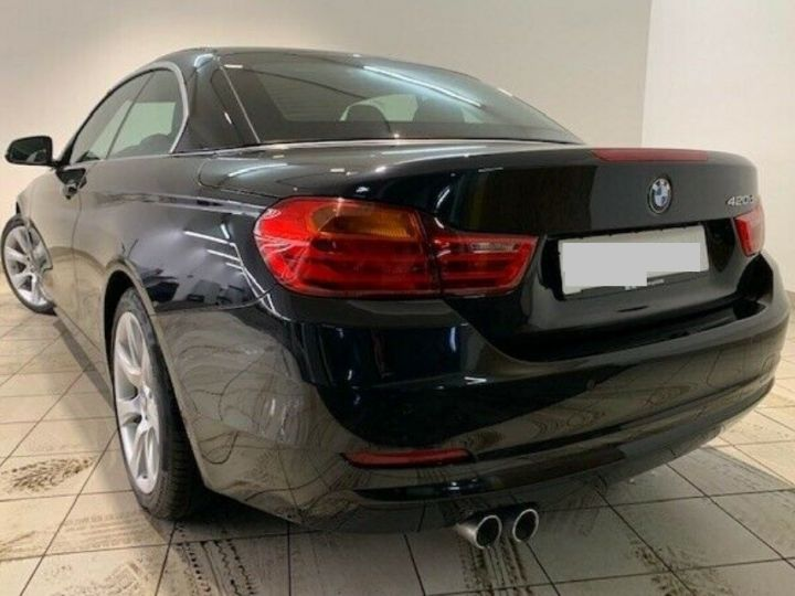 BMW Série 4 420D 190 LUXURY BVA8 (09/2016) saphirschwarz metal - 2