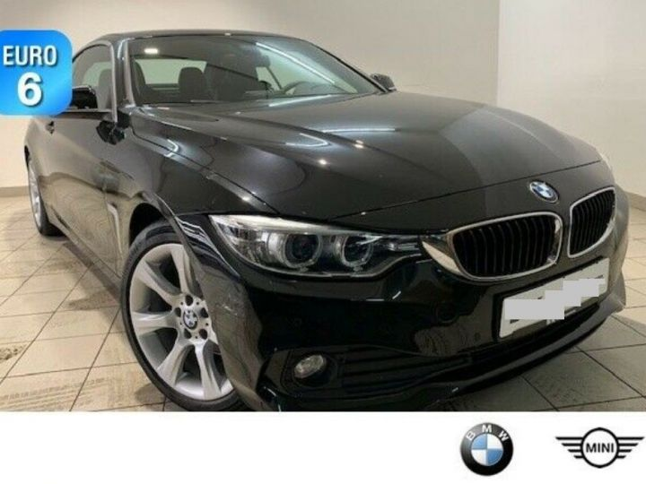 BMW Série 4 420D 190 LUXURY BVA8 (09/2016) saphirschwarz metal - 8