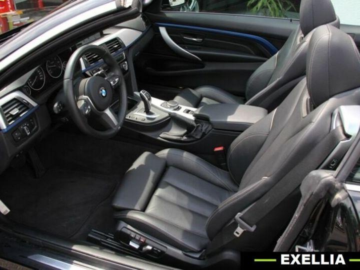 BMW Série 4 420d Cabrio NOIR PEINTURE METALISE  Occasion - 10