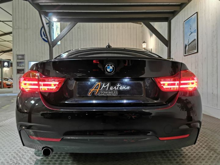 BMW Série 4 420DA 184 CV M SPORT BVA Noir - 4