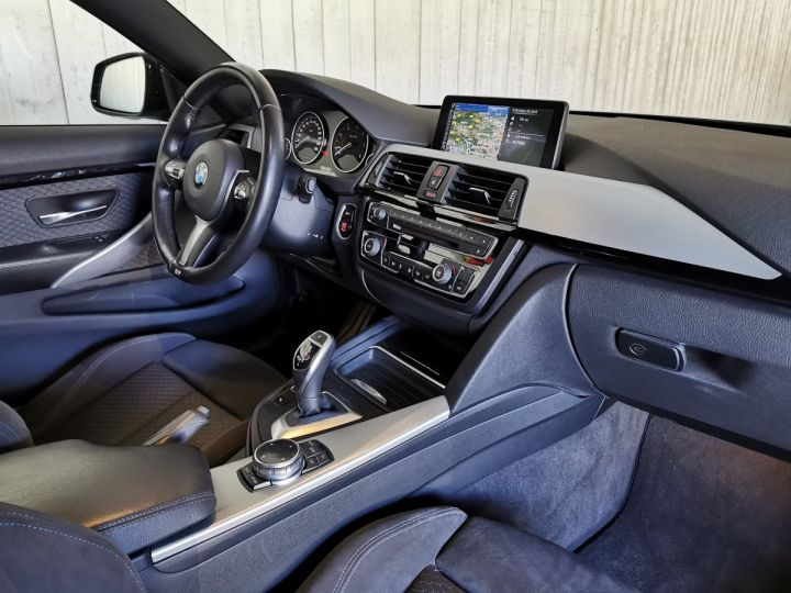 BMW Série 4 420DA 184 CV M SPORT BVA Noir - 6