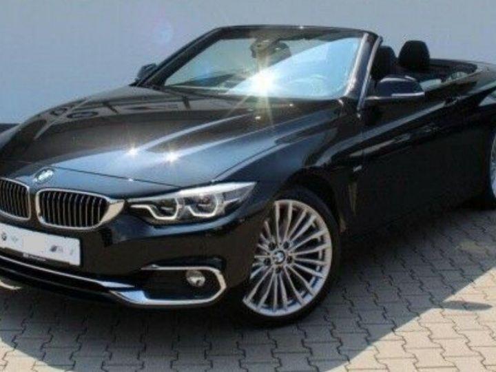 BMW Série 4 430D 258 LUXURY BVA8 noir métal - 1