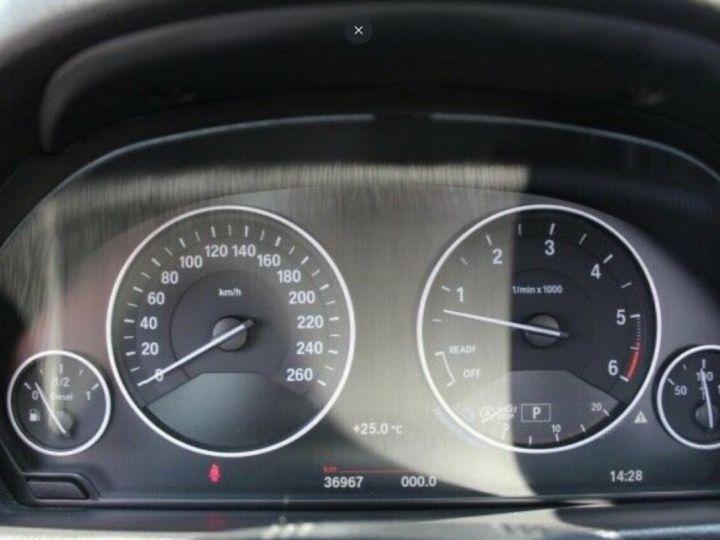 BMW Série 4 430D 258 LUXURY BVA8 noir métal - 12