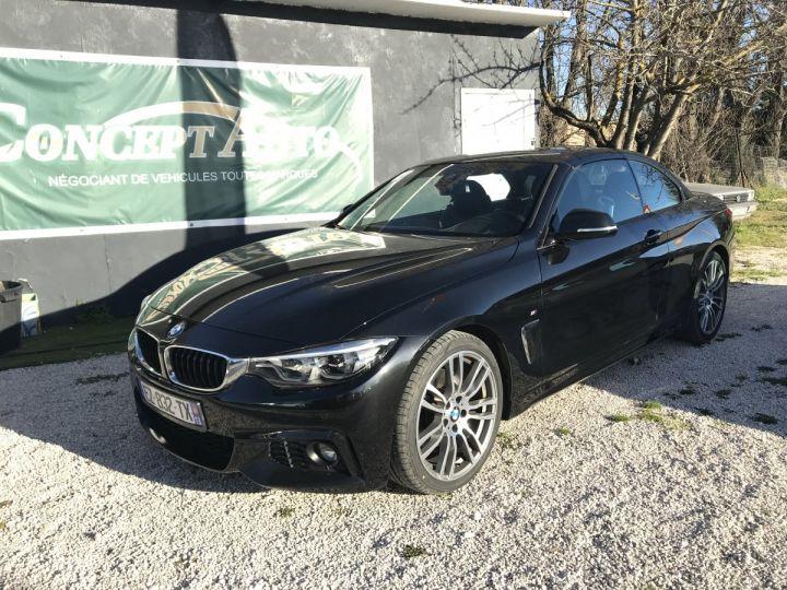 BMW Série 4 430D F33 CABRIOLET PACK M  NOIR METAL Occasion - 1