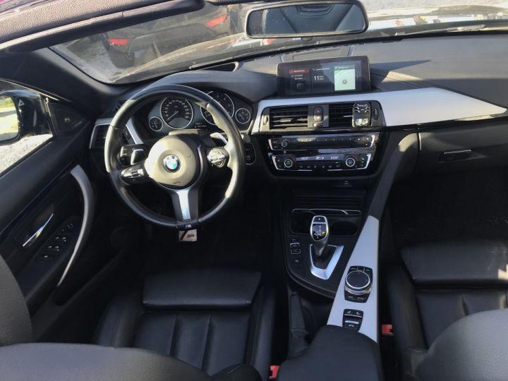 BMW Série 4 430D F33 CABRIOLET PACK M  NOIR METAL Occasion - 5
