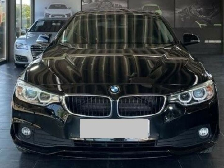 BMW Série 4 Gran Coupe 418D BUSINESS BVA8 12/2015 noir métal - 1