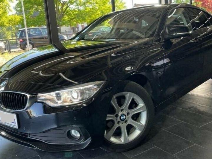 BMW Série 4 Gran Coupe 418D BUSINESS BVA8 12/2015 noir métal - 5