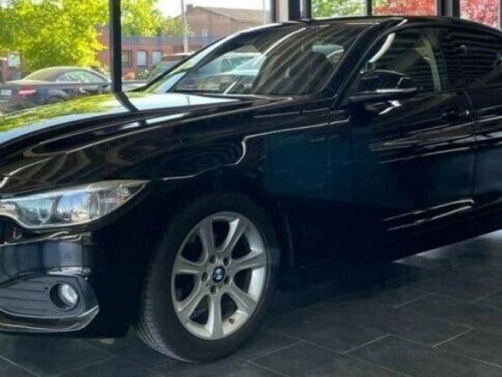 BMW Série 4 Gran Coupe 418D BUSINESS BVA8 12/2015 noir métal - 9