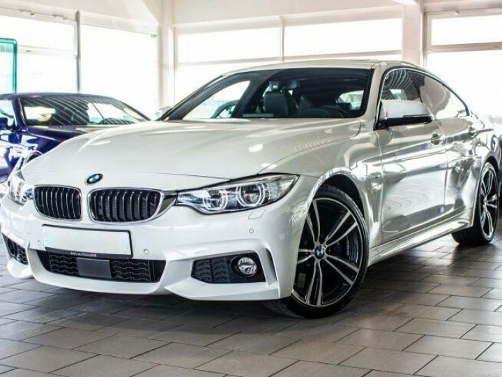 BMW Série 4 Gran Coupe 440I 326 M SPORT BVA8 Blanc métallisé - 1