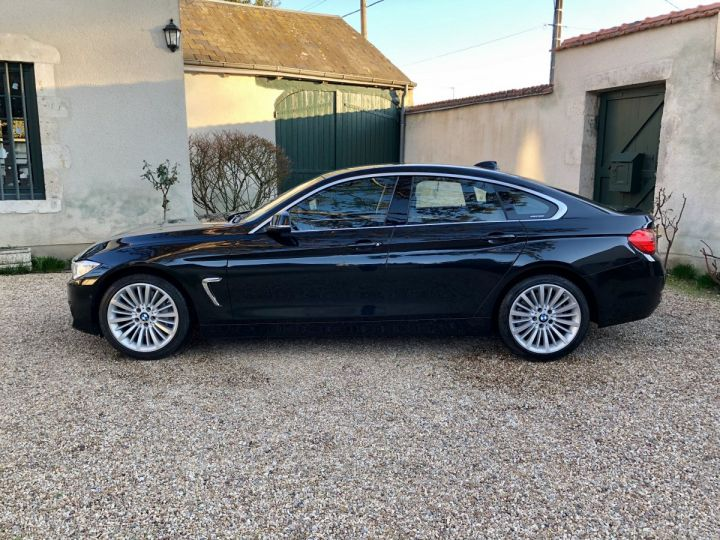 BMW Série 4 Gran Coupe Luxury Noir - 2
