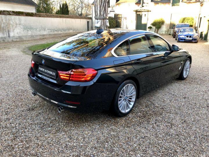 BMW Série 4 Gran Coupe Luxury Noir - 4