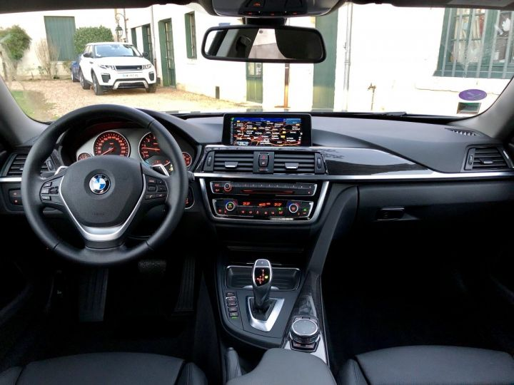 BMW Série 4 Gran Coupe Luxury Noir - 9