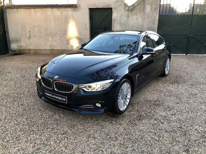 BMW Série 4 Gran Coupe Luxury Noir - 1