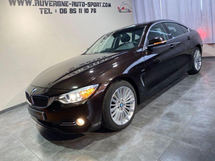 BMW Série 4 Gran Coupe SERIE F36 420DA 184 LUXURY SPARKLING BROWN METAL - 1