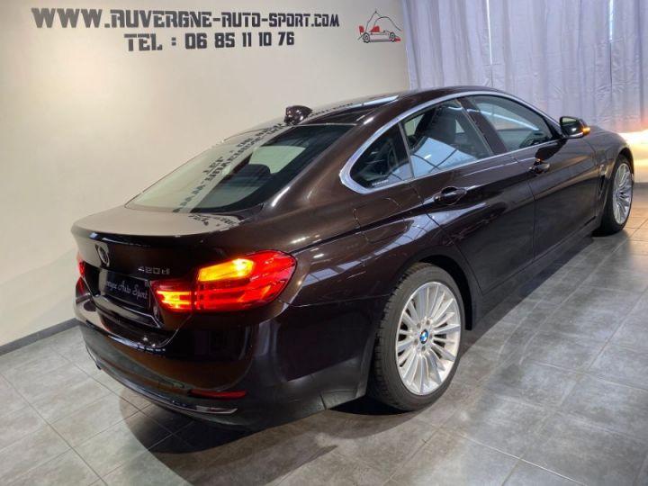 BMW Série 4 Gran Coupe SERIE F36 420DA 184 LUXURY SPARKLING BROWN METAL - 3