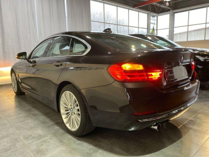 BMW Série 4 Gran Coupe SERIE F36 420DA 184 LUXURY SPARKLING BROWN METAL - 4