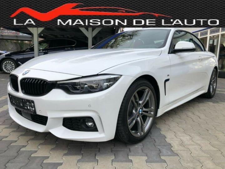 BMW Série 4 M blanc - 2
