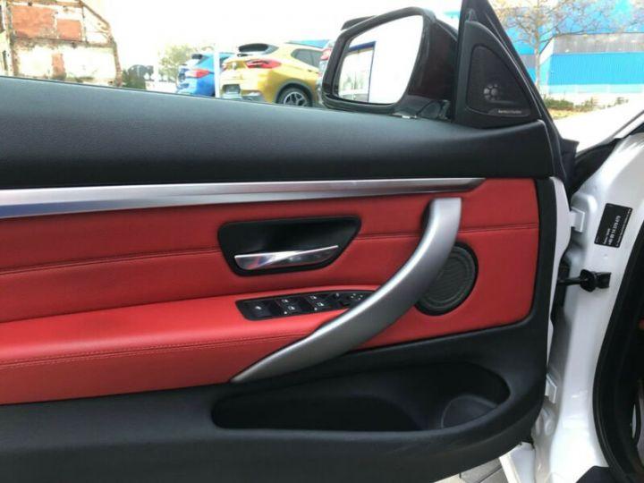 BMW Série 4 M blanc - 8
