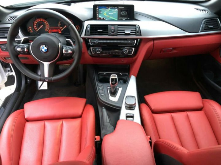 BMW Série 4 M blanc - 10