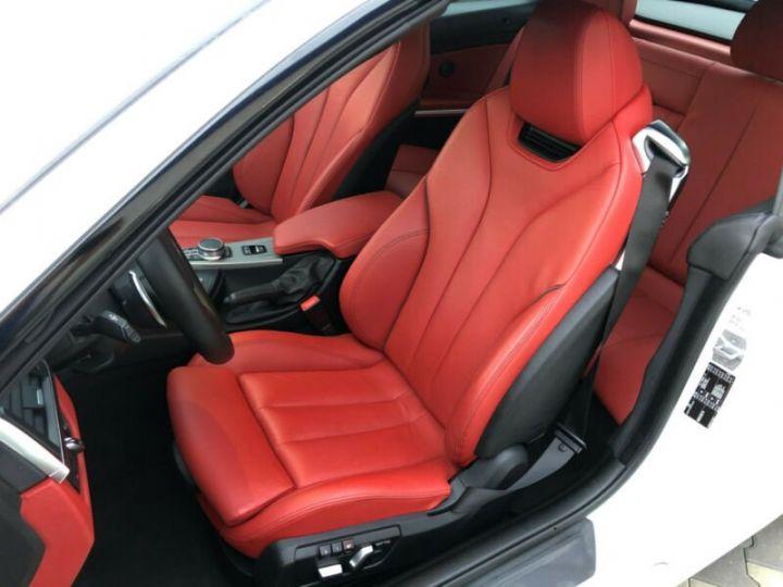 BMW Série 4 M blanc - 11