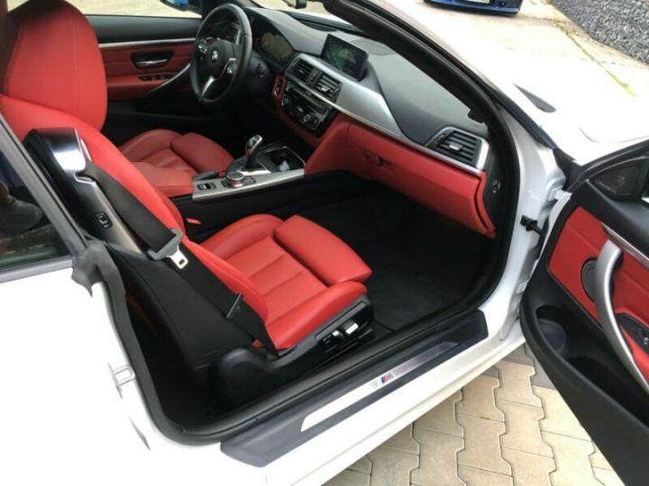 BMW Série 4 M blanc - 13