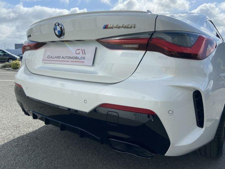 BMW Série 4 M440i XDRIVE 374ch (G22) BVA8 BLANC NACRE - 7