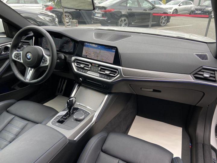 BMW Série 4 M440i XDRIVE 374ch (G22) BVA8 BLANC NACRE - 12