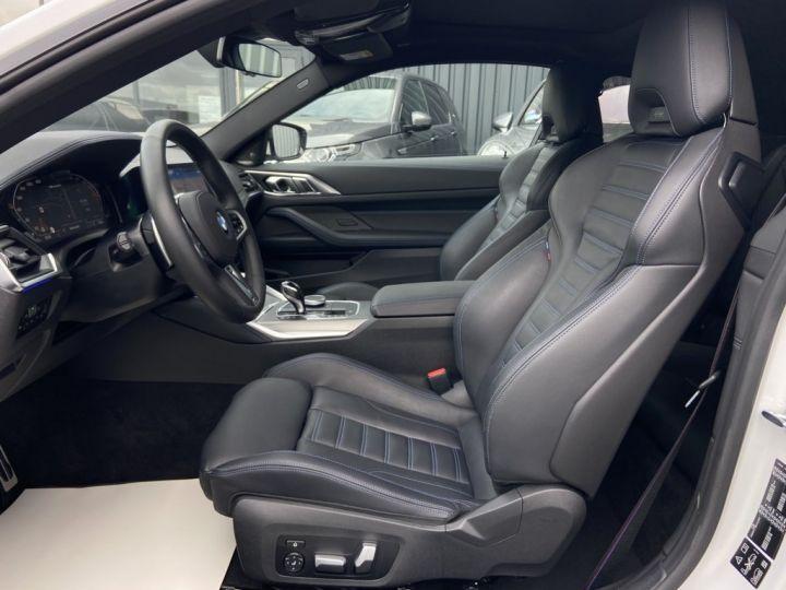 BMW Série 4 M440i XDRIVE 374ch (G22) BVA8 BLANC NACRE - 13