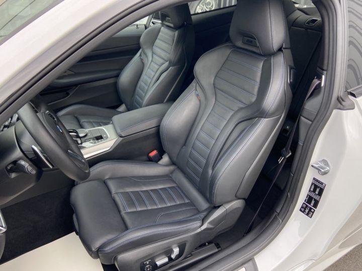 BMW Série 4 M440i XDRIVE 374ch (G22) BVA8 BLANC NACRE - 14
