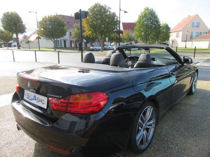 BMW Série 4 SERIE CABRIOLET 428IA 245CH M SPORT Black Saphir Occasion - 18