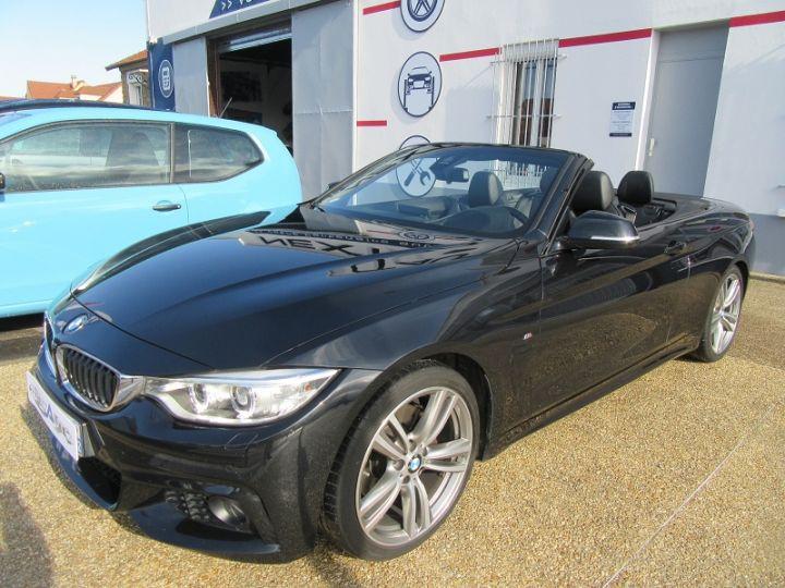BMW Série 4 SERIE CABRIOLET 428IA 245CH M SPORT Black Saphir Occasion - 19