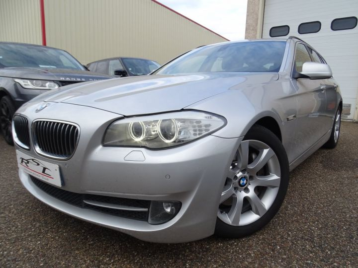 BMW Série 5 530 DA F11 Touring Pack Luxe / véhicule Français  argent met - 1