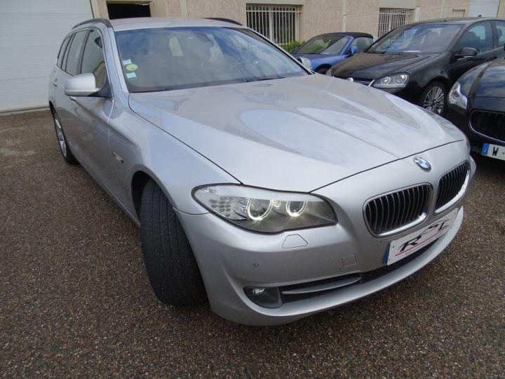 BMW Série 5 530 DA F11 Touring Pack Luxe / véhicule Français  argent met - 4