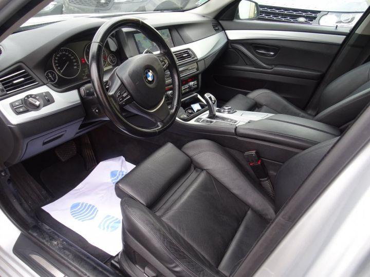 BMW Série 5 530 DA F11 Touring Pack Luxe / véhicule Français  argent met - 9