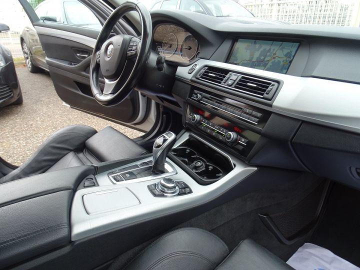 BMW Série 5 530 DA F11 Touring Pack Luxe / véhicule Français  argent met - 10