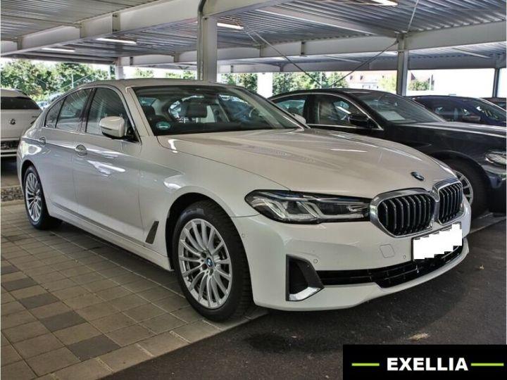 BMW Série 5 530D XDRIVE LUXURY BVA 286 cv BLANC  Occasion - 1