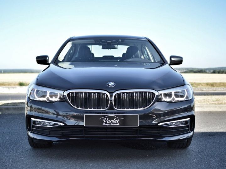 BMW Série 5 BMW 520DA G30 XDRIVE FINITION LUXURY 2.0 190ch BVA8 1ERE MAIN HISTO BMW BLACK PANEL LED SIEGES CONF gris fonce - 2