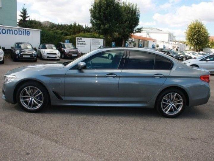 BMW Série 5 G30 530EA IPERFORMANCE 252CH M SPORT STEPTRONIC GRIS Occasion - 4