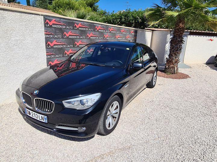 BMW Série 5 Gran Turismo 530D 258ch EXCLUSIVE A / CAMERA / ATH / TOIT OUVRANT / AFFAIRE LMDA Noir métallisée  - 1