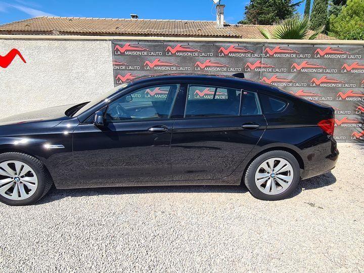 BMW Série 5 Gran Turismo 530D 258ch EXCLUSIVE A / CAMERA / ATH / TOIT OUVRANT / AFFAIRE LMDA Noir métallisée  - 2