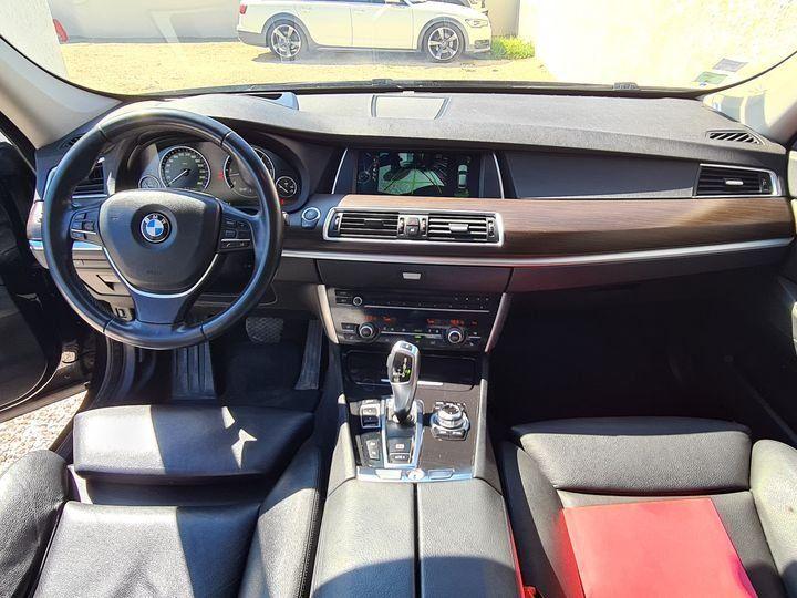 BMW Série 5 Gran Turismo 530D 258ch EXCLUSIVE A / CAMERA / ATH / TOIT OUVRANT / AFFAIRE LMDA Noir métallisée  - 4