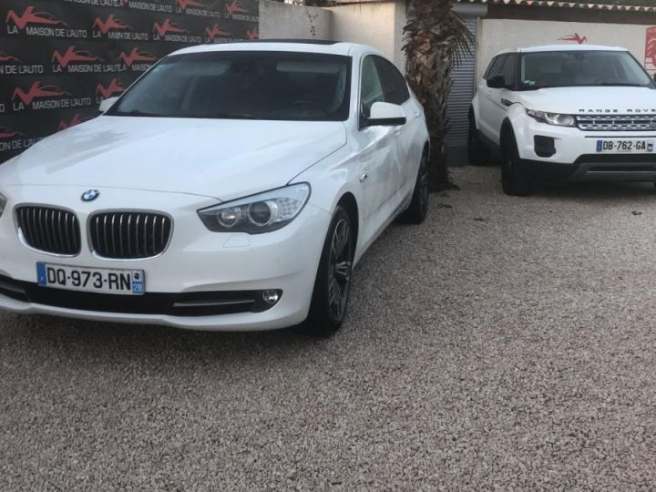 BMW Série 5 Gran Turismo Xdrive Pack Luxe Full Options BLANC - 1