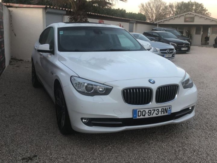BMW Série 5 Gran Turismo Xdrive Pack Luxe Full Options BLANC - 2