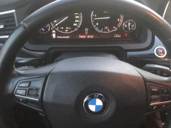 BMW Série 5 Gran Turismo Xdrive Pack Luxe Full Options BLANC - 6