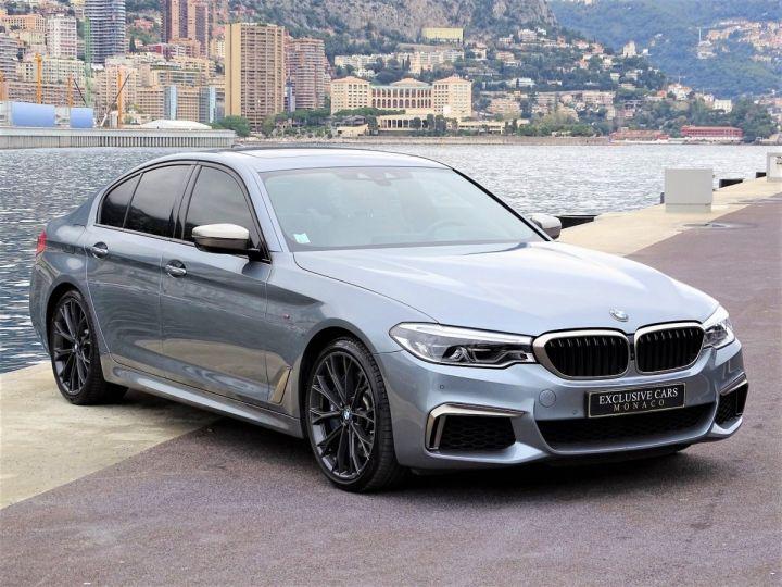 BMW Série 5 M 550 D Xdrive 400 CV - MONACO BLUESTONE METAL - 3
