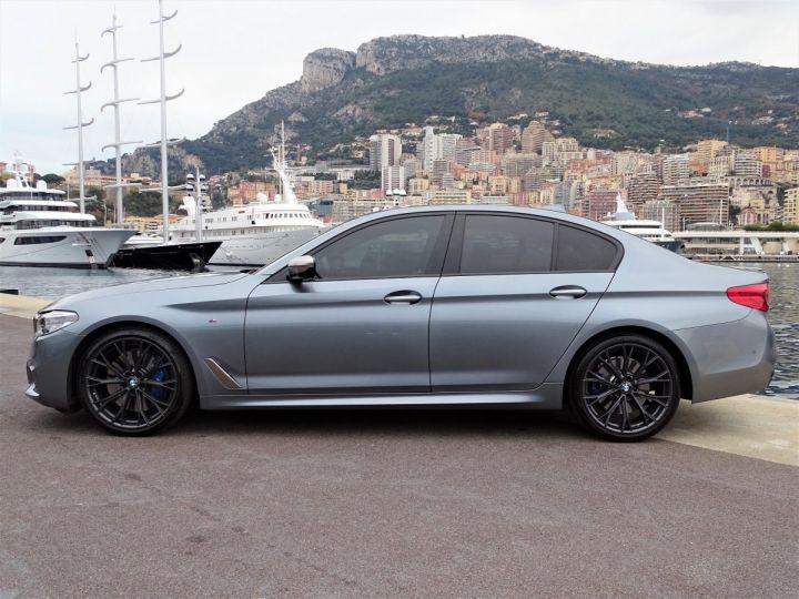 BMW Série 5 M 550 D Xdrive 400 CV - MONACO BLUESTONE METAL - 4