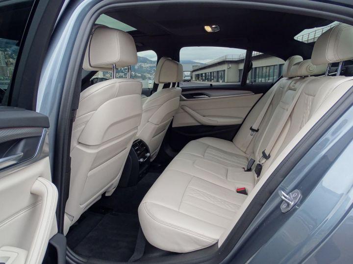BMW Série 5 M 550 D Xdrive 400 CV - MONACO BLUESTONE METAL - 9