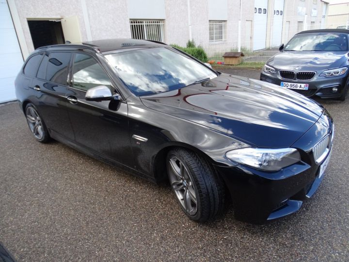 BMW Série 5 M550D X Drive BVA 381Ps /TOE pano Camera Memoire H.kardon ... noir - 5